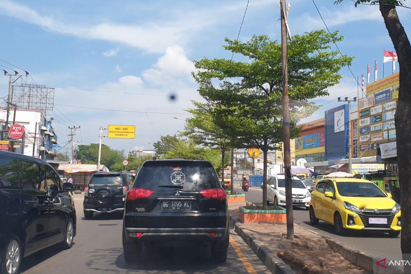 Sopir keluhkan asap karhutla ganggu jalan lintas Palembamg-Indralaya