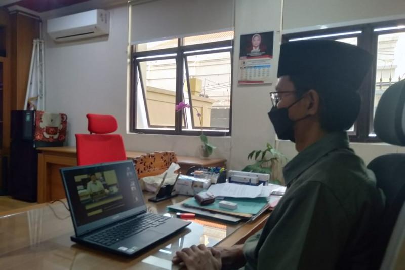 Ketua Fraksi PAN-PPP wafat, DPRD Surabaya gelar doa bersama virtual