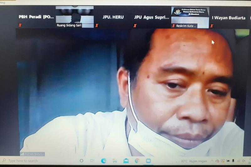 PN Denpasar adili oknum polisi karena jadi perantara jual beli narkoba