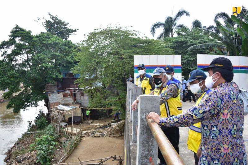 Kementerian PUPR lanjutkan pembangunan sodetan Sungai Ciliwung