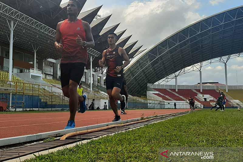 Atlet lari Aceh Fuad Ramadhan bertekad pertahankan medali emas PON
