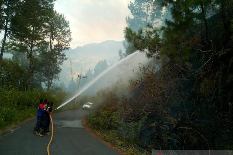 Tiga hektare lahan di Aceh Tengah dilaporkan terbakar