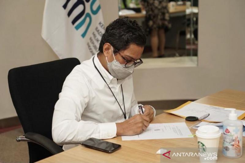 Wamen BUMN teken akta pendirian PT Perikanan Indonesia (Persero)