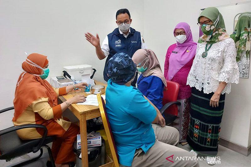 Gubernur DKI Jakarta menargetkan 2 juta vaksinasi dalam 10 hari