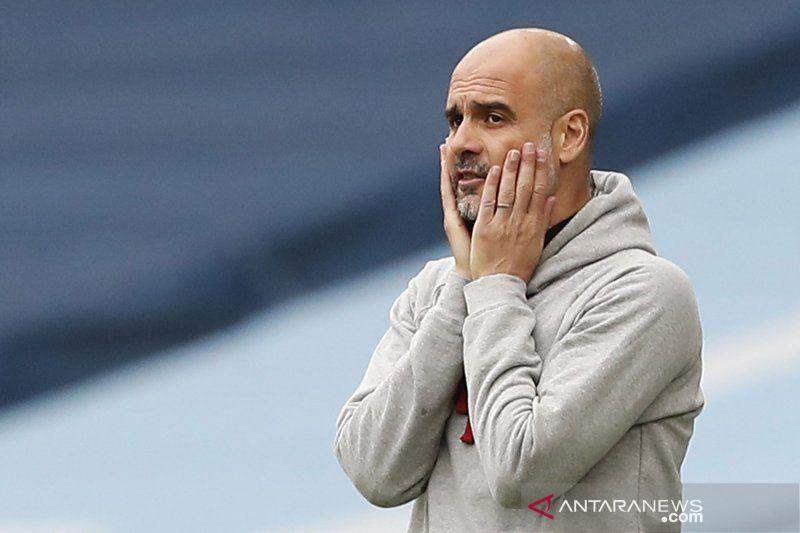 Guardiola tegaskan saat ini Man City fokus untuk hadapi Wycombe