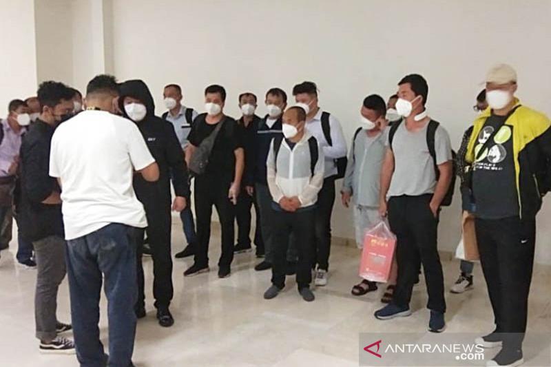 Ditjen Imigrasi sebut 34 TKA asal China masuk Indonesia kantongi Itas