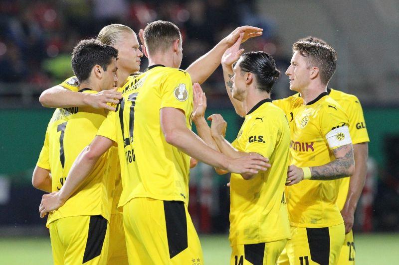 Hattrick Haaland membawa Dortmund lalui mulus Piala Jerman