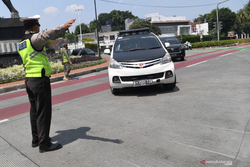 Polisi pertimbangkan sanksi tilang untuk pelanggar ganjil-genap