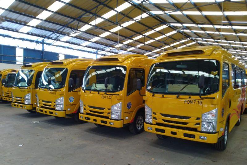 Kemenhub siapkan 428 bus mendukung PON XX Papua