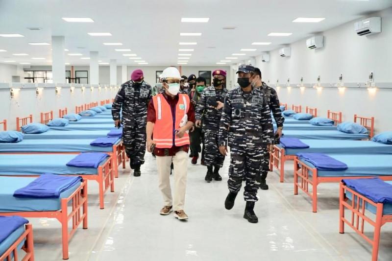 Kadiskesal tinjau persiapan rumah oksigen Jawa Timur di PT SIER