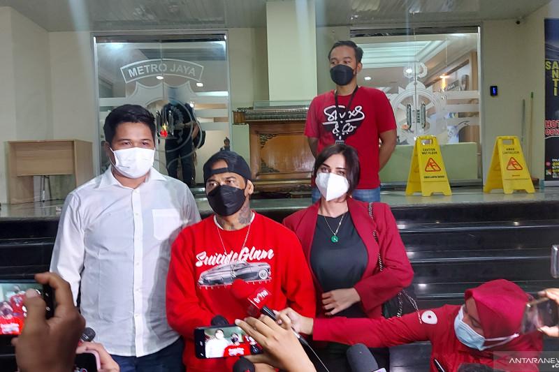 Jerinx dicecar 18 pertanyaan oleh penyidik Polda Metro Jaya