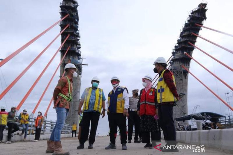 Jembatan Alalak akan jadi ikon wisata baru Kota Banjarmasin