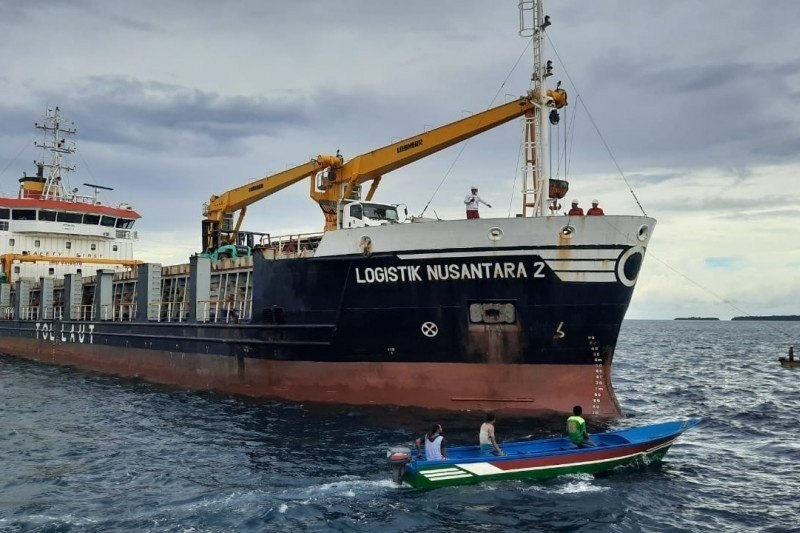 Kemenhub sosialisasikan tol laut dukung PON XX Papua