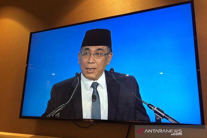 Gus Yahya tawarkan strategi perdamaian global model NU di IRF Summit