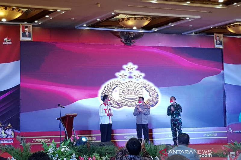 Istri Kapolri apresiasi Polda Jateng bantu anak terdampak COVID-19