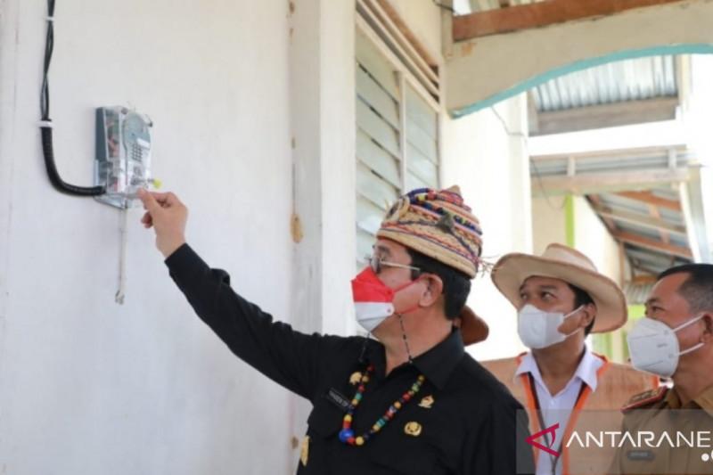 Desa di perbatasan Kaltara - Malaysia dialiri listrik PLN