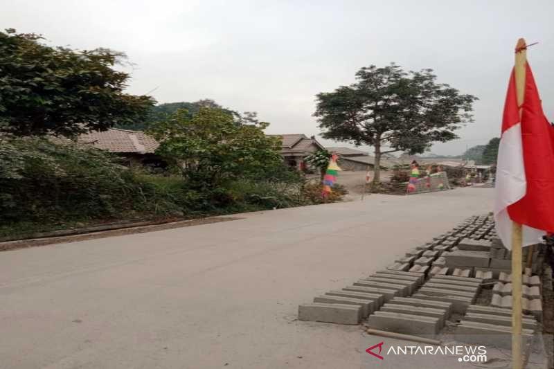 Dua desa di Boyolali terdampak hujan abu Merapi