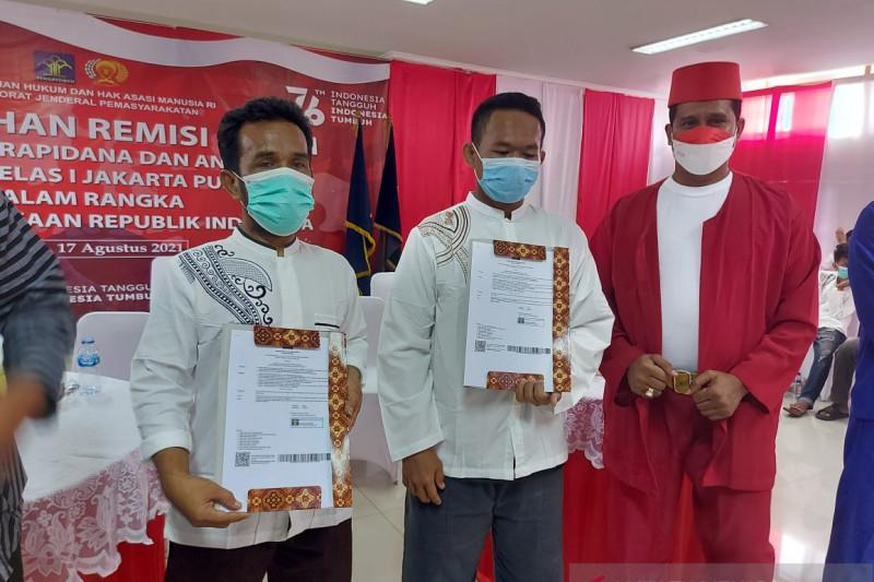 Dapat remisi, 52 narapidana Rutan-Lapas Salemba bebas