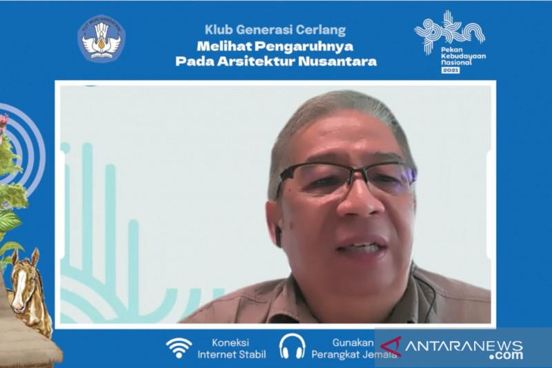Arsitek: Jalur rempah mempengaruhi bangunan arsitektur di Indonesia