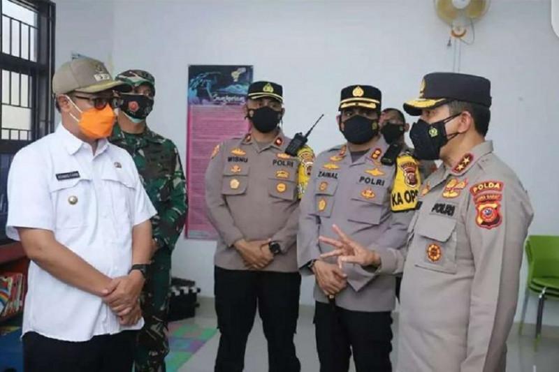 Kapolda Jabar mengapresiasi penerapan PPKM di Sukabumi