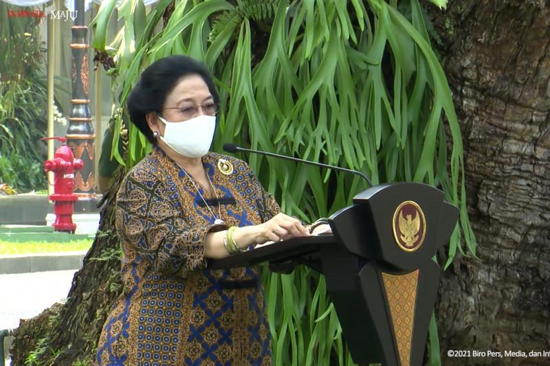 Megawati ingatkan negara akan ambruk jika ubah ideologi