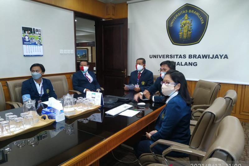 Belasan ribu mahasiswa baru Universitas Brawijaya ikuti PKKMB daring