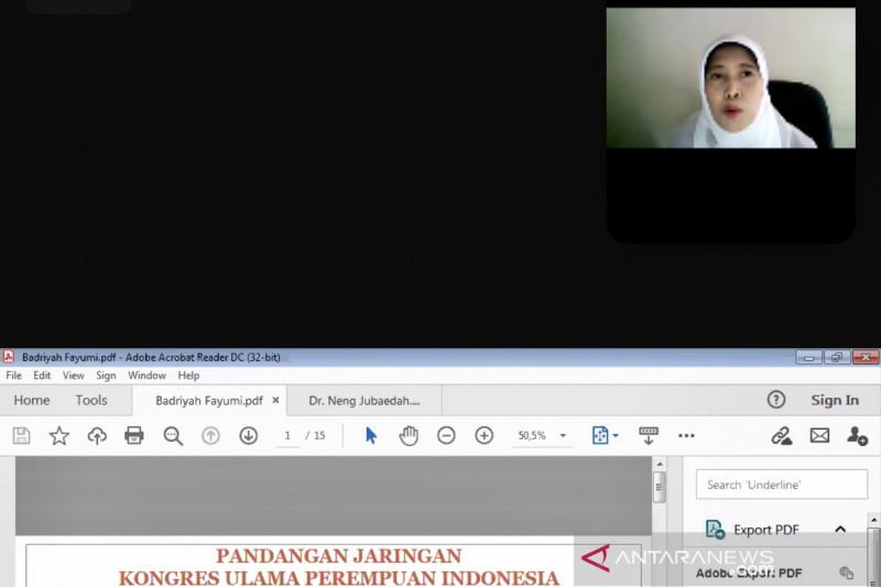 Kongres Ulama Perempuan Indonesia dukung DPR sahkan RUU PKS