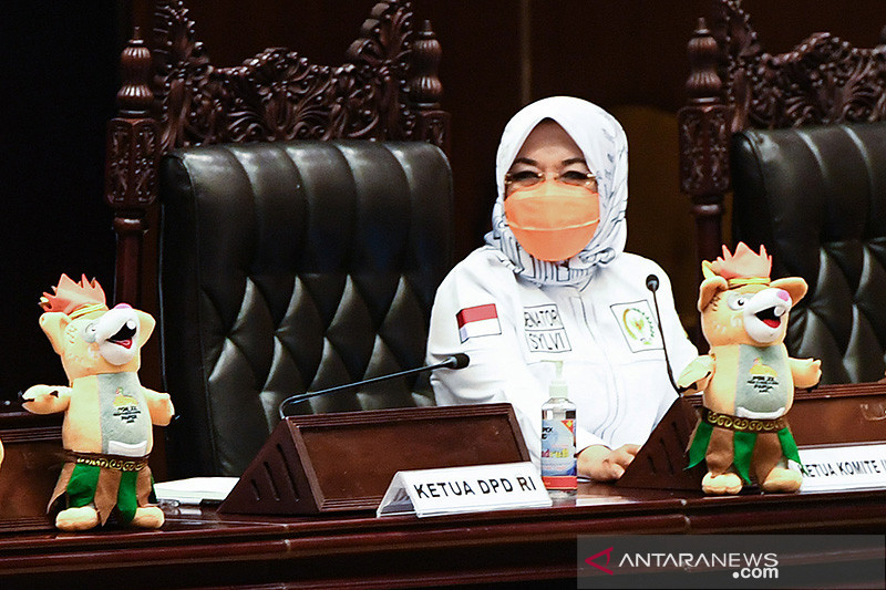 Sylviana Murni terpilih kembali jadi ketua komite III DPD