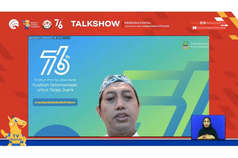 Jawa Barat dukung migrasi ke siaran tv digital