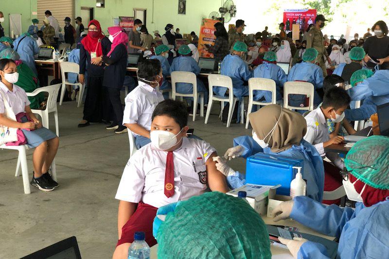 Vaksinasi pelajar Yogyakarta 83 persen, PTM tunggu kajian epidemiologi