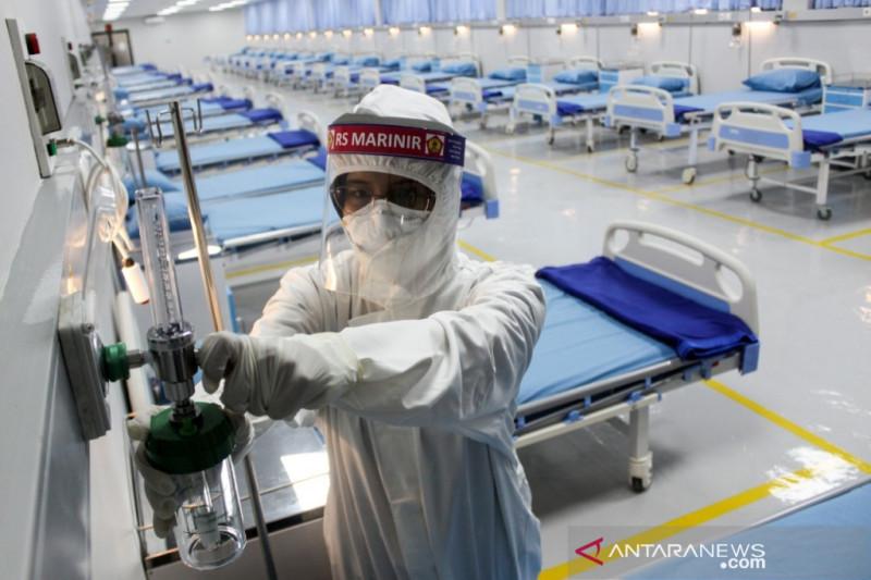 TNI AL operasikan rumah oksigen di Surabaya
