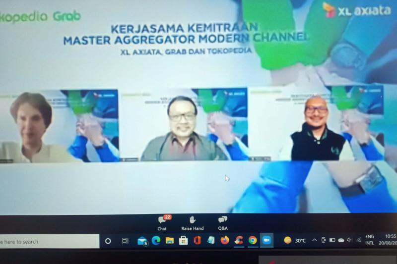 XL Axiata gandeng Grab dan Tokopedia tingkatkan kualitas layanan