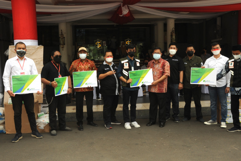 Pengusaha Surabaya tanggung BPJS Ketenagakerjaan relawan COVID-19