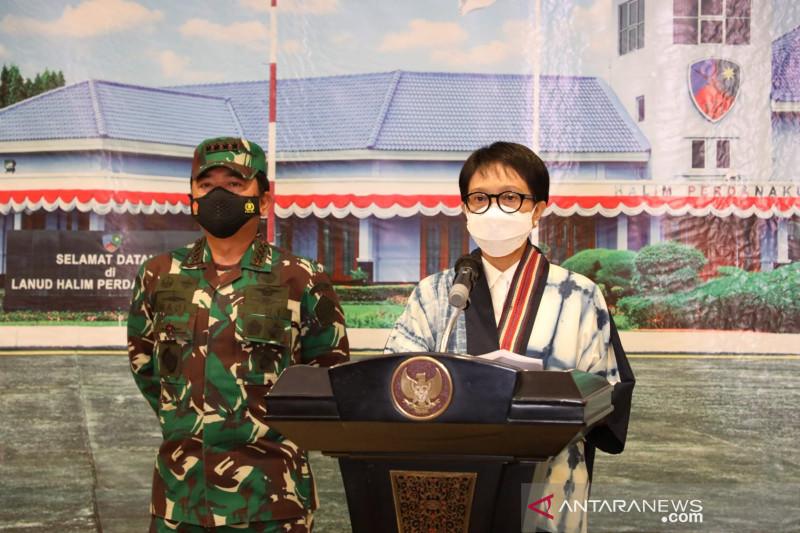 Menlu: Izin mendarat pesawat TNI AU di Afganistan sempat ditunda