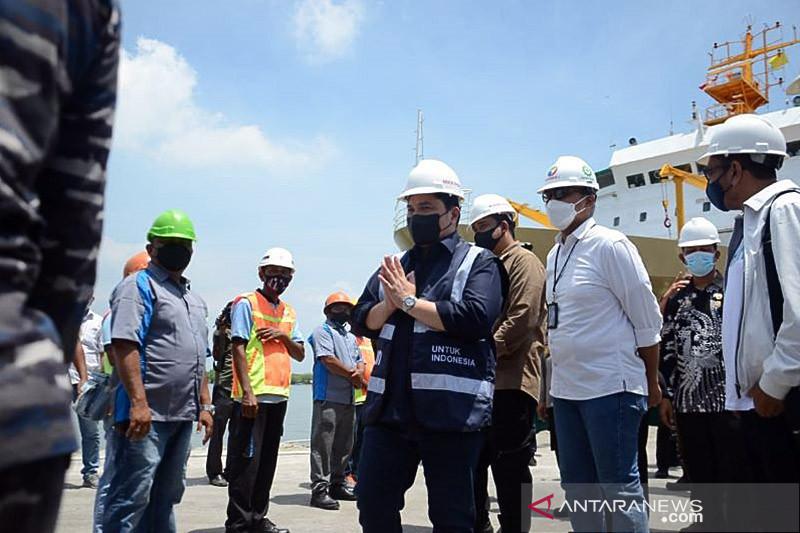Erick Thohir: Kapal isolasi terapung bantu jaga