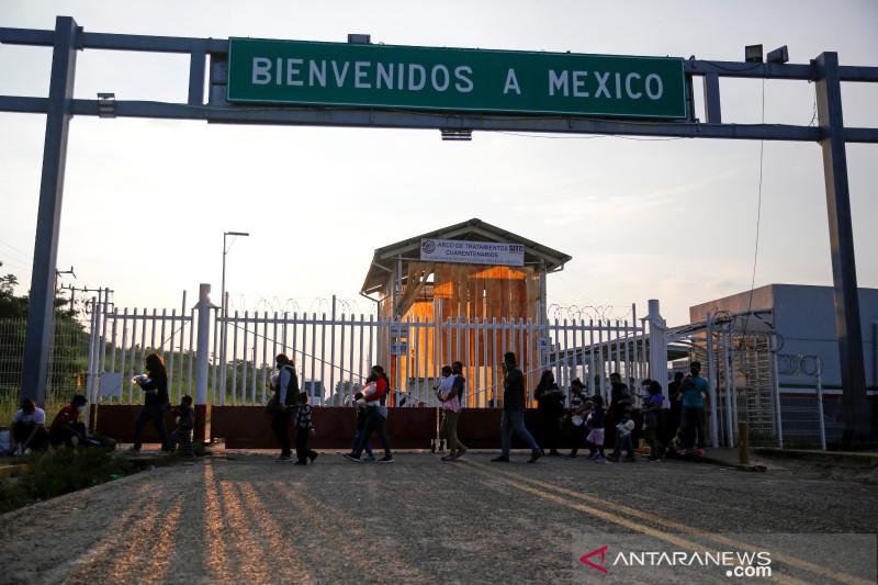 Protes migran di Meksiko selatan: 'Kami bukan penjahat'
