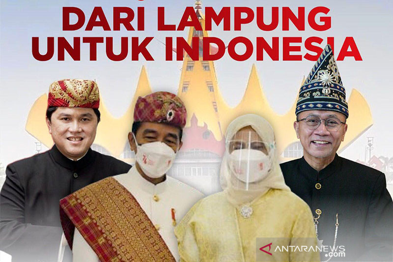Sepekan, Pakaian adat Lampung hingga Baduy yang dikenakan Presiden