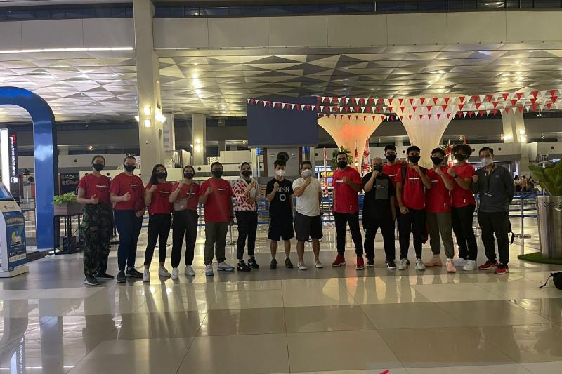Timnas 3x3 Indonesia bertolak ke Hungaria untuk FIBA World Cup U-18