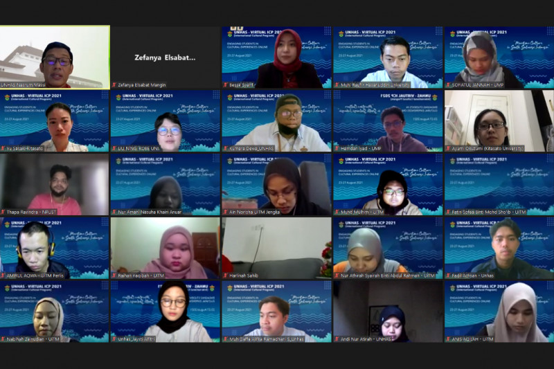 ICP Unhas 2021 diikuti peserta dari 15 negara