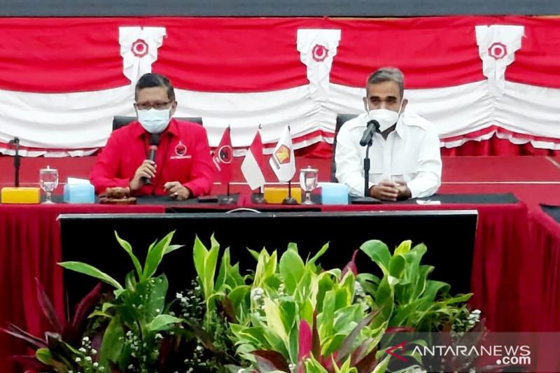 Pertemuan PDIP-Gerindra tak bahas soal Pemilu 2024