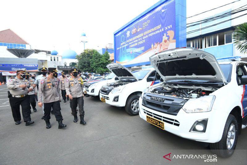 Korlantas Polri kirim 51 kendaraan dukung PON Papua