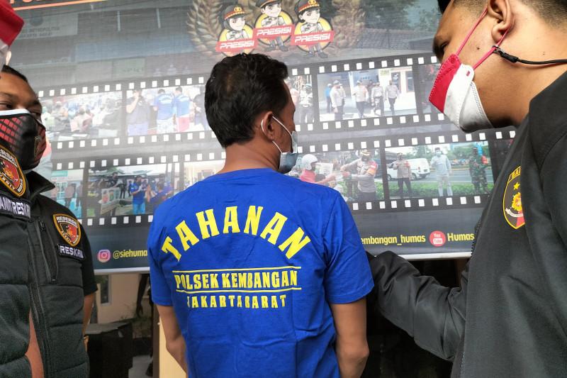 Polsek Kembangan tangkap pria pemalak proyek pembangunan di Joglo