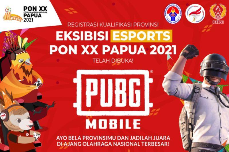 Pendaftaran PUBG Mobile untuk PON XX Papua 2021 resmi dibuka
