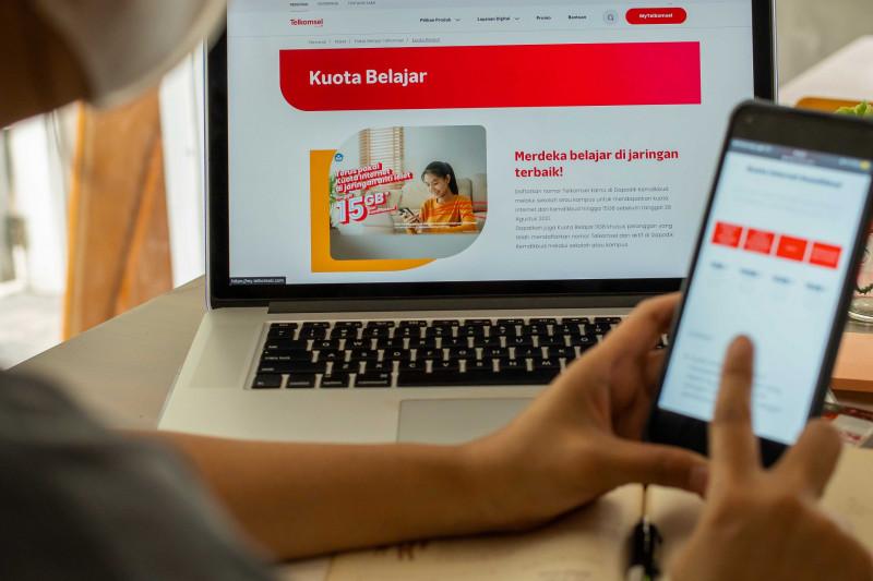Telkomsel dukung penyaluran kuota internet belajar