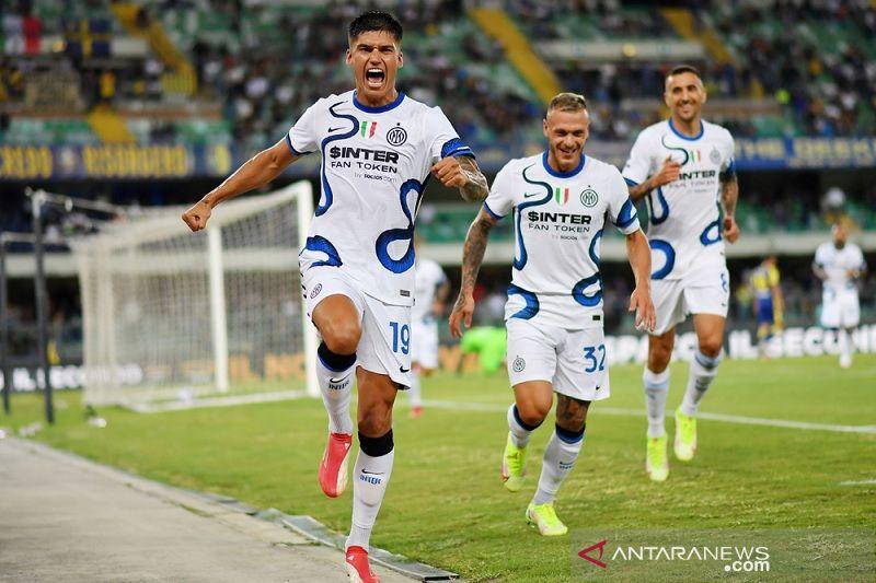 Debut Joaquin Correa berhias dwigol, Inter bangkit kalahkan Verona 3-1