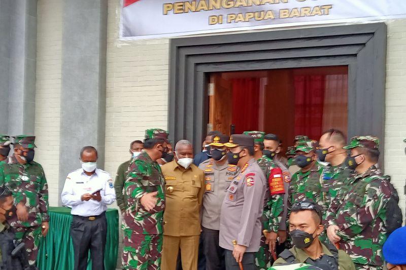Panglima TNI dan Kapolri apresiasi penanganan COVID-19 di Sorong