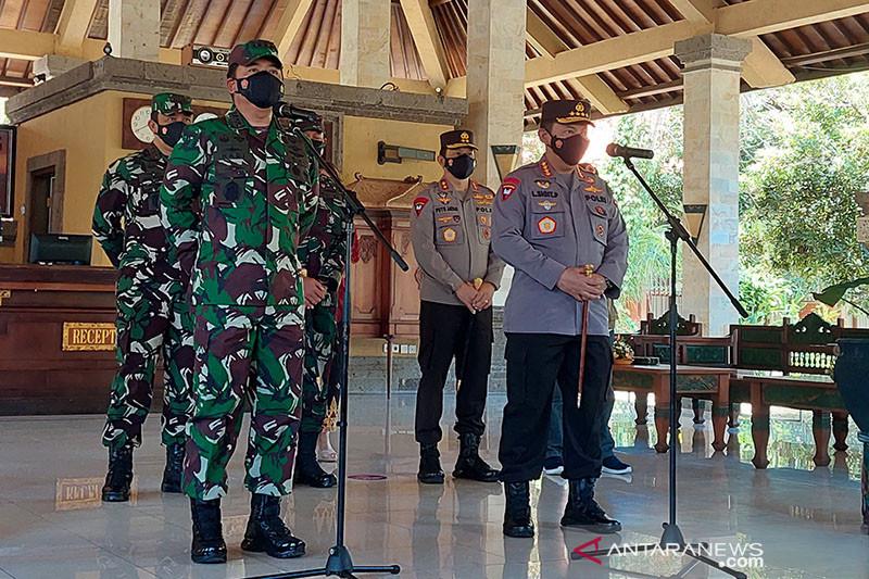 Panglima TNI dan Kapolri harap 3T dan vaksinasi di Bali bisa maksimal