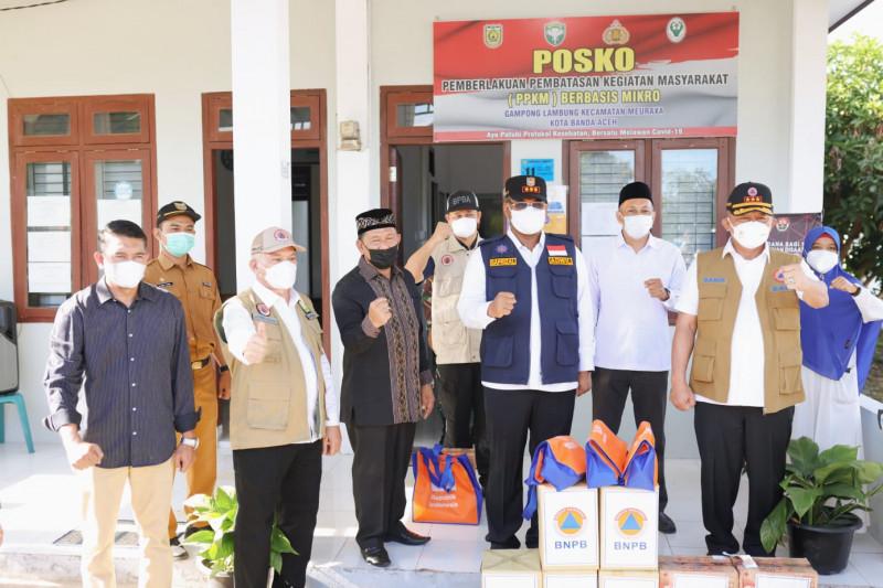 Kepala BNPB tinjau Posko PPKM Gampong Lambung