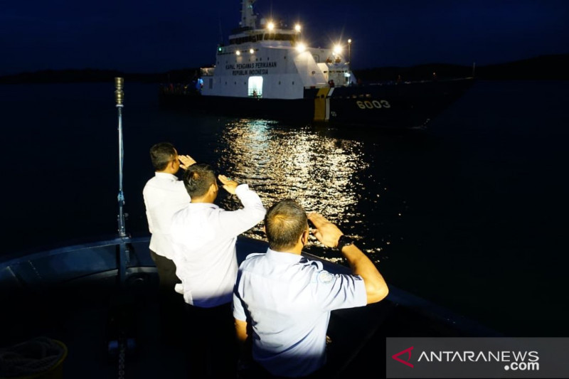 KKP tradisikan jajar kehormatan untuk penjaga laut