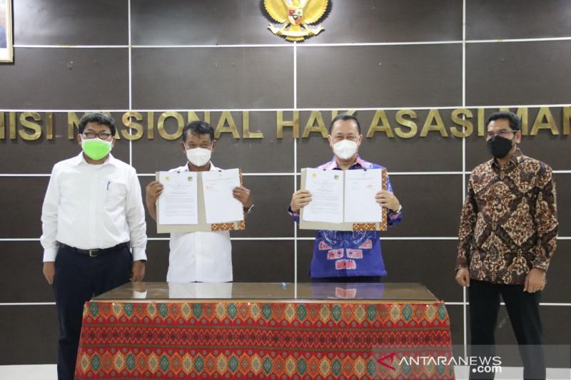 Komnas HAM-Pemprov Sulteng komitmen dukung pemulihan korban HAM